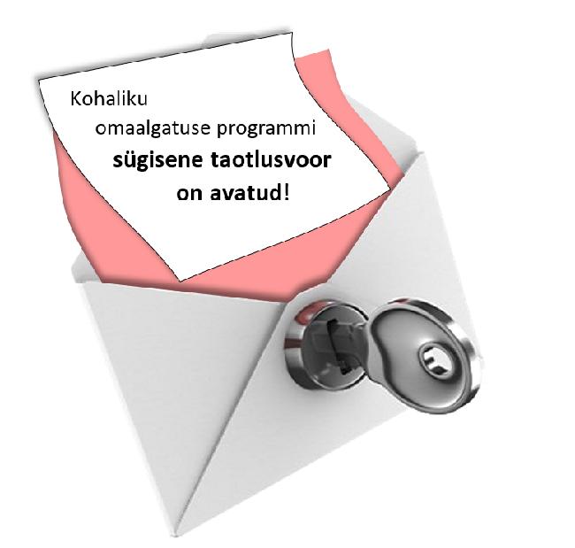 AVATUD KOHALIKU OMAALGATUSE PROGRAMMi sügisvoor