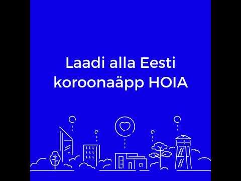 Lae oma nutitelefoni HOIA – Eesti ametlik koroonaviiruse äpp