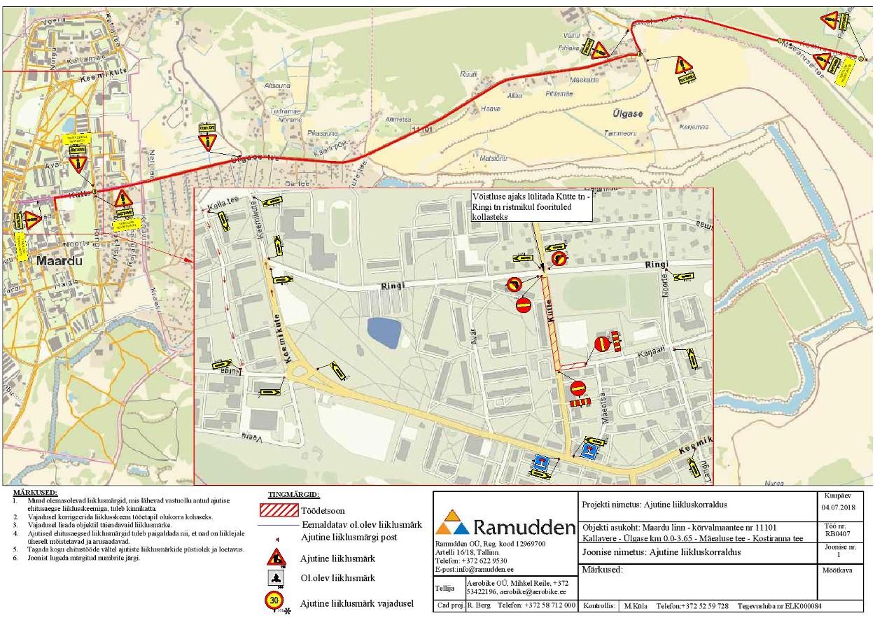 Maardu linna üldplaneeringu ja KSH aruande vastuvõtmine, avalik väljapanek