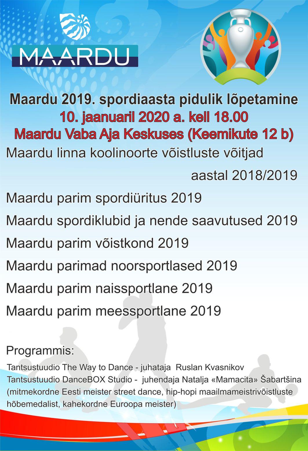 MAARDU NOORTEVOLIKOGU 2020 VALIMISED