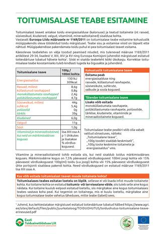 Mahepõllumajandustootjate teabe esitamine 2010 aastal
