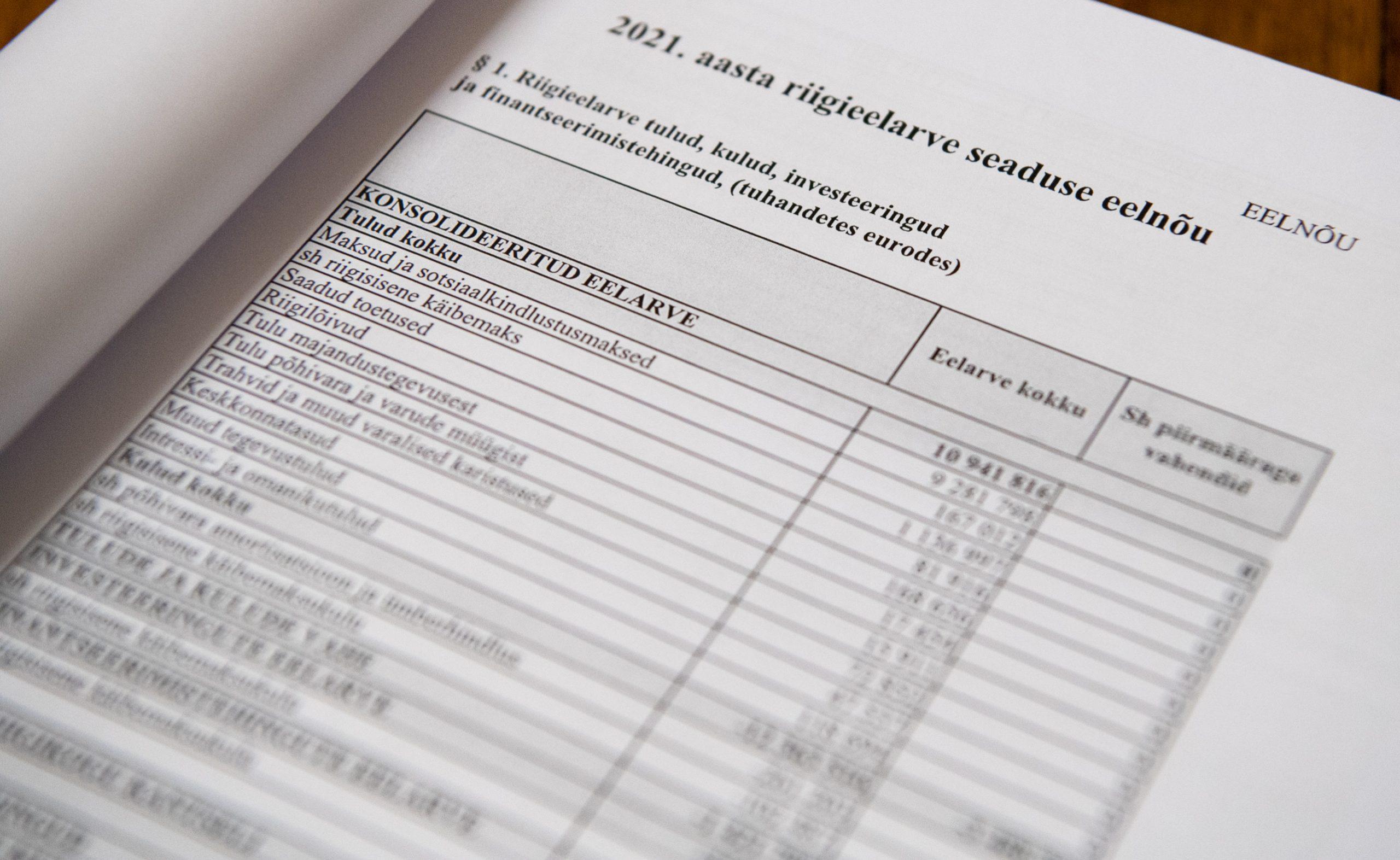 Rahanduskomisjon arutas koos eelarvenõukoguga riigi rahanduse olukorda