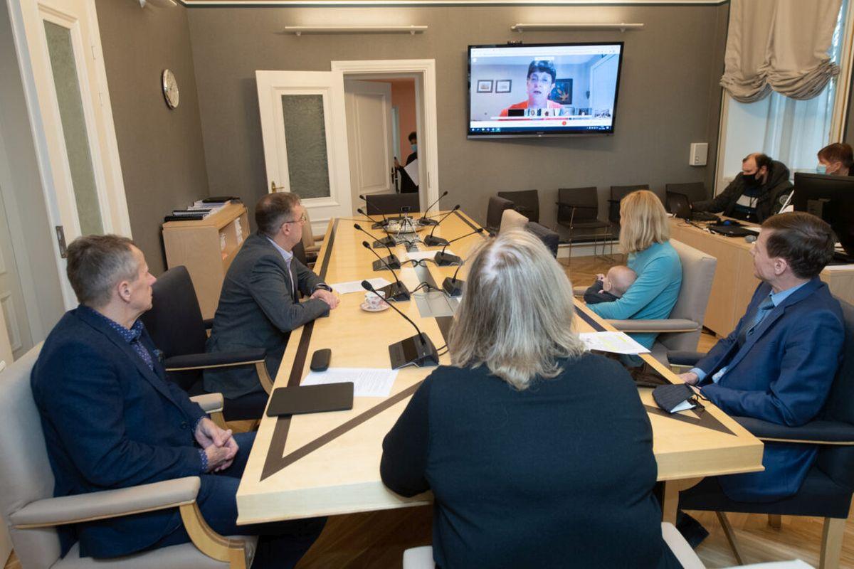 Riigikogu komisjonid arutasid videokohtumisel IMFi delegatsiooniga riigieelarve koostamise küsimusi