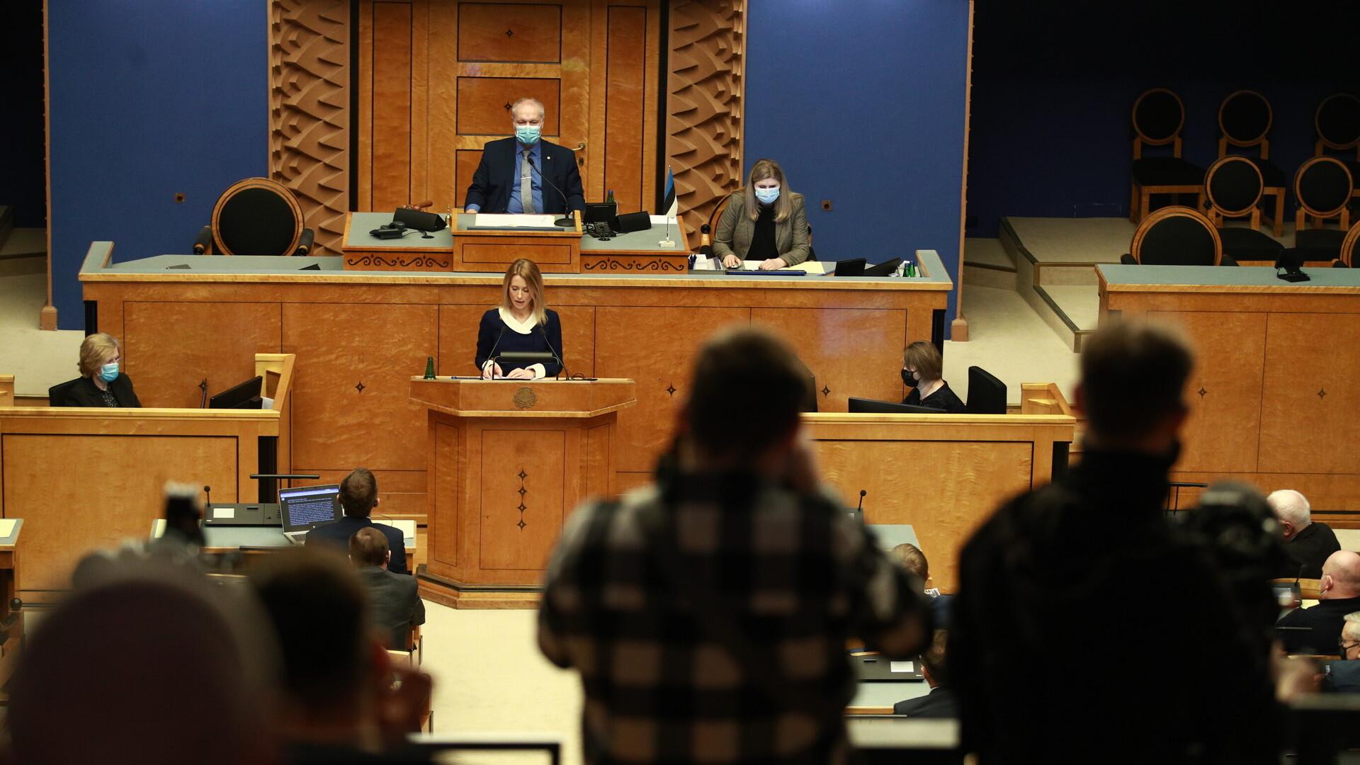 Kaja Kallas sai Riigikogu toetuse valitsuse moodustamiseks
