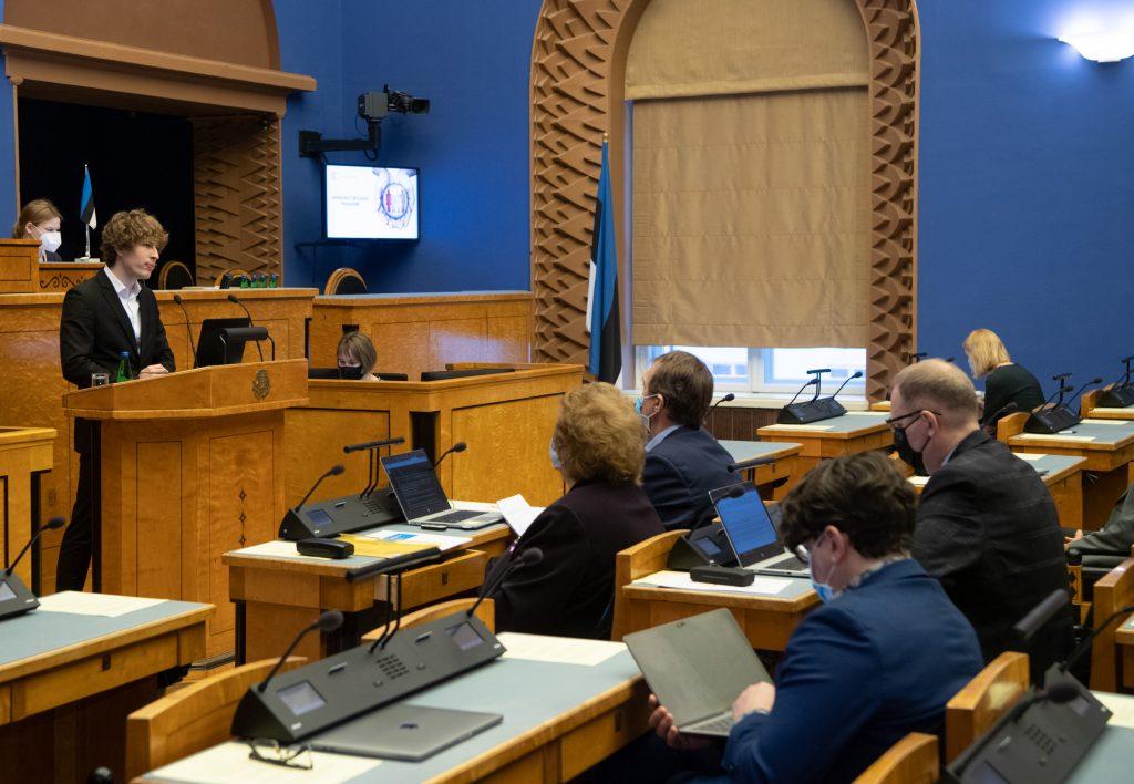 Riigikogu arutas rahvatervise arengukava olulise tähtsusega riikliku küsimusena
