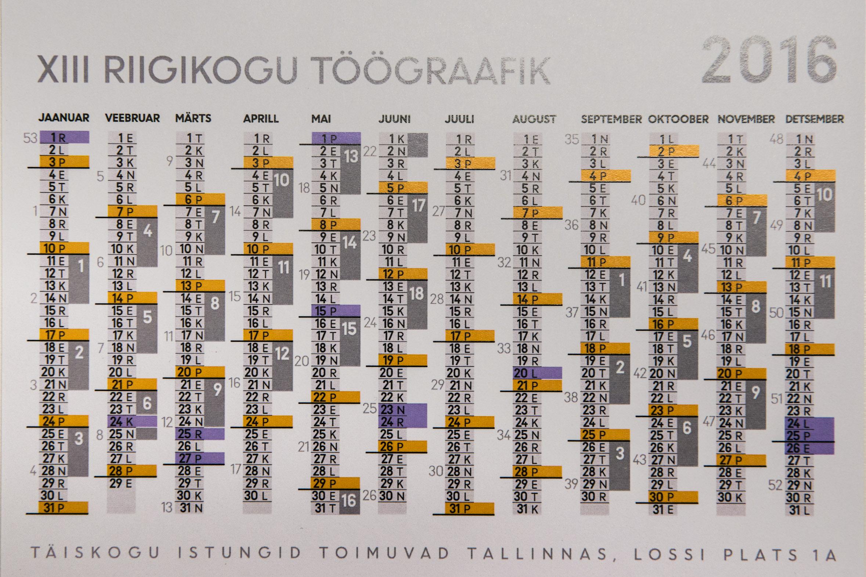 Riigikogu eelinfo 18. – 24. jaanuarini