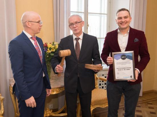Riigikogu esimees kõneles Leedu kolleegiga koostöövõimalustest