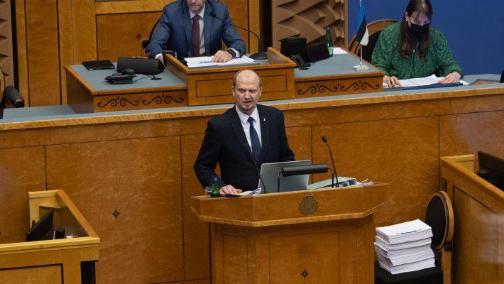 Riigikogus ei leidnud toetust otsuse eelnõu rahvahääletuse korraldamiseks