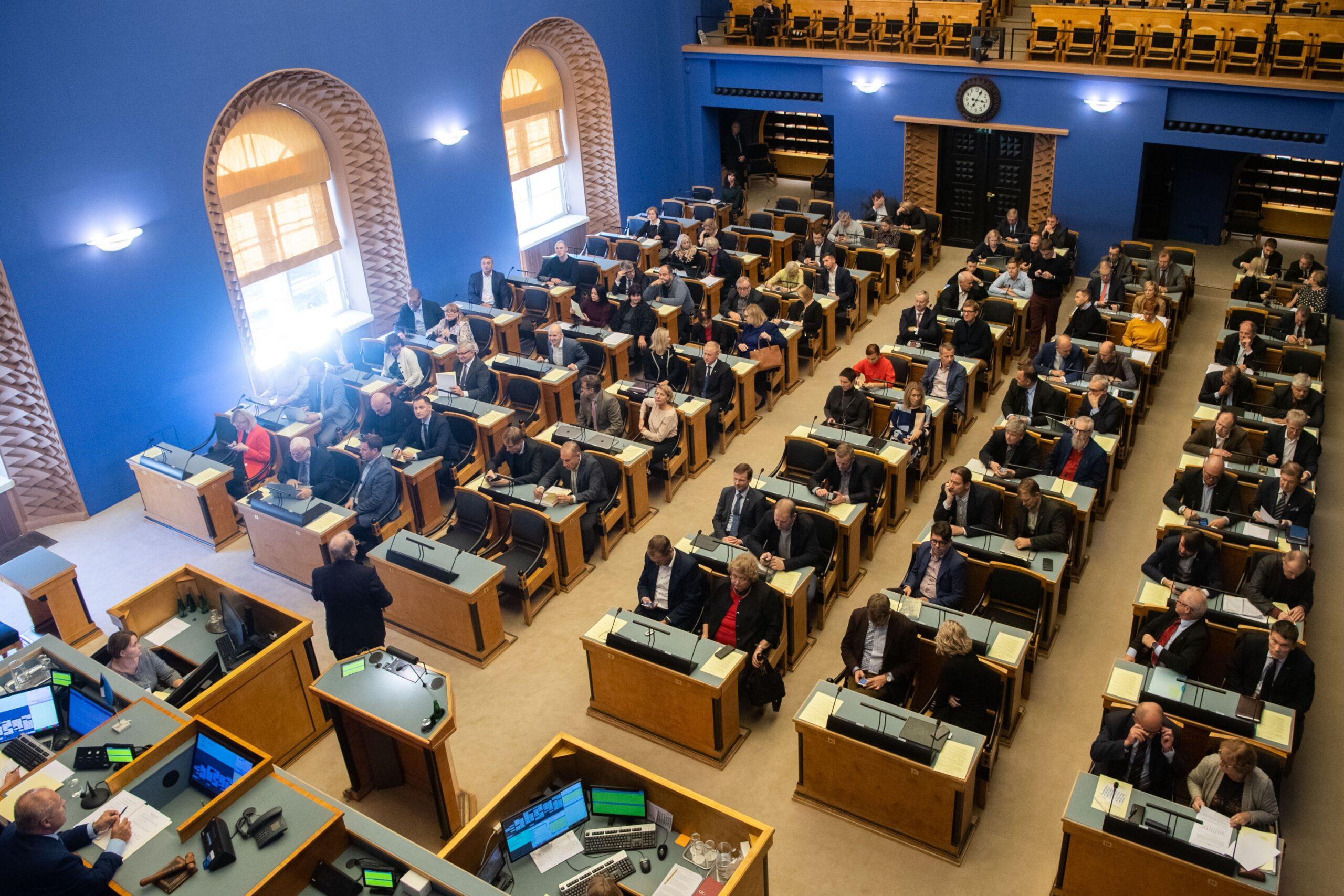 Riigikogus läbisid teise lugemise kohtute seaduse muudatused