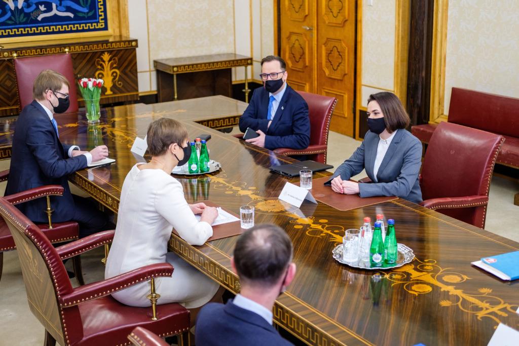 Väliskomisjon kohtub avalikul istungil Svjatlana Tsihhanovskajaga