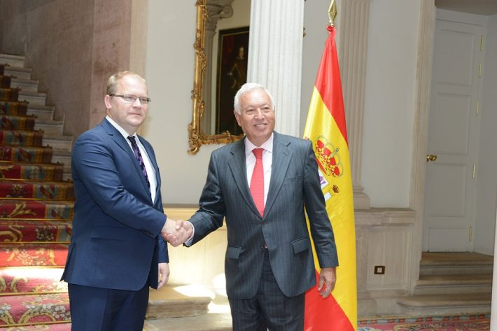 Kohtumine Hispaania kõrgetasemeliste ametikandjatega