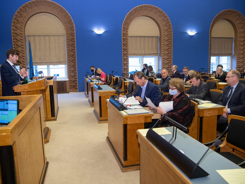 Riigikogus läbis esimese lugemise järgmise aasta riigieelarve eelnõu